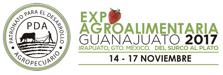 MAFA Vegetal Ecobiology atiende Expo Agroalimentaria Guanajuato 2017 en México.
