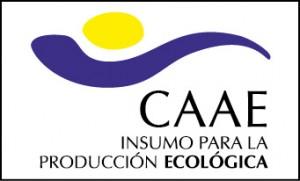 Sello CAAE. empresa certificadores de insumos para la agricultura ecoológica
